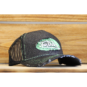 Casquette Von Dutch Green Trucker