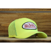 Casquette Von Dutch Junior Jaune Fluo