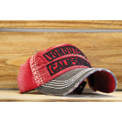 Casquette Von Dutch Niles velours rouge