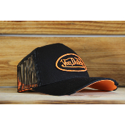 Casquette Von Dutch Neon orange
