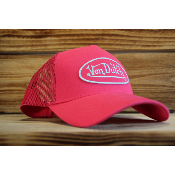 Casquette Von Dutch Girly BM Fushia