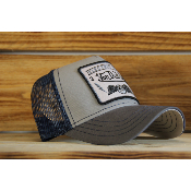 Casquette Von Dutch Square Flying Eye bleu